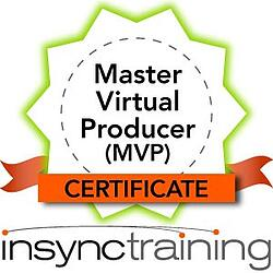 master virtual producer mvp certificate