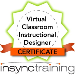 Virtual Classroom Instructional Designer Certificate