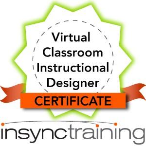 Virtual Classroom Instructional Designer Certificate