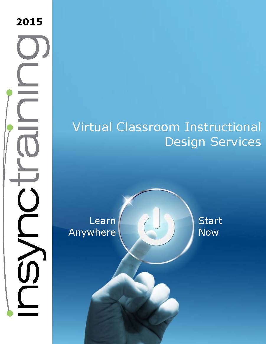 Virtual Classroom Instructional Design Services